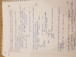 CHM - Class Notes - Week 12