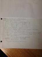 UMB - CHEM 135 - Class Notes - Week 13