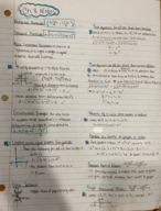 MTH 122 - Class Notes - Week 10