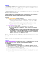 PHIL 1050 - Class Notes - Week 15