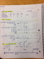 CHM 101 - Class Notes - Week 12