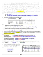 STAT 250 - Study Guide
