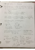 CHEM 210 - Class Notes - Week 9