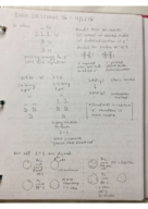 CHEM 210 - Class Notes - Week 14
