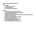 ACCT 6072 - Study Guide