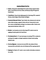 Pace - HIS 113 - Study Guide