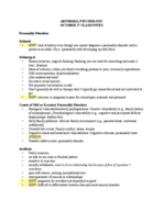 PSYC 2011 - Class Notes - Week 11