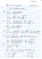 Pace - MATH 111 - Class Notes - Week 14
