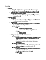 IU - SPE 236 - Study Guide - Final