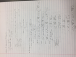 MA 16020 - Class Notes - Week 1