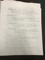 BIOL 142 - Class Notes - Week 2