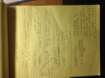 MA 1610 - Class Notes - Week 1