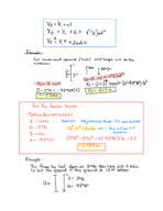 PHY 121 - Class Notes - Week 1