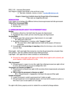 POLS 110 - Class Notes - Week 2