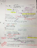 UTC - MATH 1960 - Class Notes - Week 2