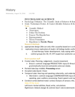 PSYC 1004 - Class Notes - Week 1
