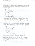 ECON 201 - Class Notes - Week 2