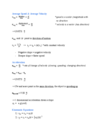 Virginia Tech - PHYS 2305 - Study Guide - Midterm