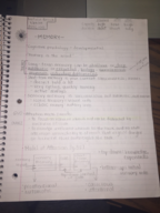 PSY 100 - Class Notes - Week 1
