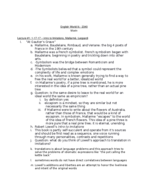 Texas State - ENG 2340 - Study Guide - Midterm