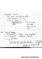CSU - MATH 141 - Class Notes - Week 3