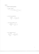 Cal State Fullerton - MATH 115 - Study Guide - Midterm