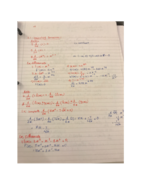 What are the rules in computing derivatives?
