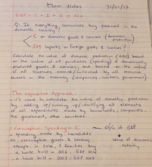 ECON 203 - Class Notes - Week 4