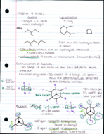 CHM 231 - Class Notes - Week 5