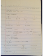 CHEM 241 - Class Notes - Week 4