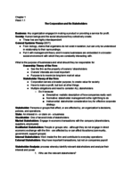 AU - MGMT 201 - Class Notes - Week 1