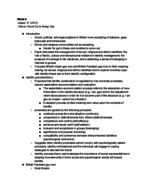 UF - ANT 2301 - Class Notes - Week 6