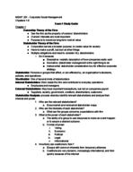 AU - MGMT 201 - Study Guide - Midterm