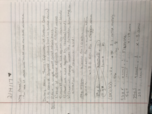 CHE 102 - Class Notes - Week 4