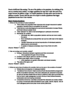 GE CLST 70 - Study Guide