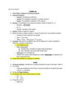 CHEM 125001 - Class Notes - Week 5