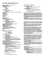 Psy 300 - Study Guide
