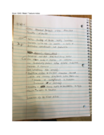 ECON 1040 - Class Notes - Week 7