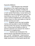Who is the founder of the pure land according to buddhism?