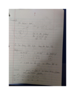 CHChemistry 1010 - Class Notes - Week 5