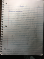 CHEM 1040 - Class Notes - Week 6