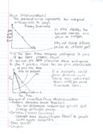 ECON 201 - Class Notes - Week 8