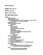 USC - CTCS 394 - Study Guide - Midterm