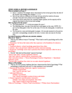 U of M - PSY 1001 - Study Guide - Midterm