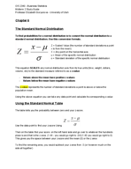 OIS 2340 - Study Guide