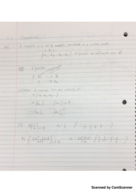 MATH 205 - Class Notes - Week 8