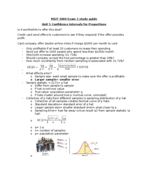 MSIT 3000 - Study Guide