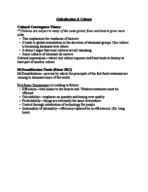 SYP 2450 - Class Notes - Week 8