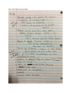 ECON 1040 - Class Notes - Week 9