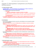 UCSC - ECON 101 - Study Guide - Final